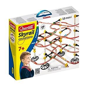 Quercetti - QA6660 - Juego Construcción Skyrail Quercetti 7 años