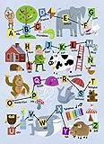 Ravensburger 07538 - Mein erstes Schulpuzzle: ABC - 80 Teile Puzzle