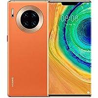 Huawei Mate 30 Pro 5G Smartphone, 6.53-Inch, 256GB, 8GB, Vegan Leather Orange