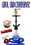 Amy Deluxe Shisha 440 Stillness II Klick, Kult-Wasserpfeife, Starter-Set mit 44-Ring-Kohle & Shiazo,...