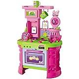 #1018 Kinder Spielküche mit Zubehör im Minnie Mouse Design • Disney Kinderküche Küchen Spielzeug Küche