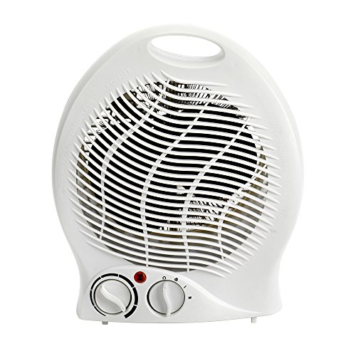 Status FH1P-2000W1PKB Portable Fan Heater, 2000 W, White, W