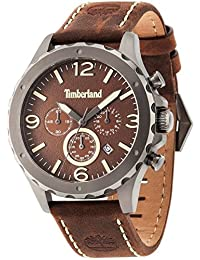Timberland Herren-Armbanduhr Analog Quarz One Size, braun, braun