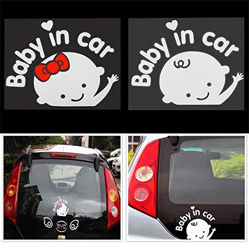 Erduo-Creativo-17x14-cm-Bambino-a-Bordo-Bambino-in-Autoadesivo-dellautomobile-Riflettente-Impermeabile-Car-Decal-sul-Parabrezza-Posteriore