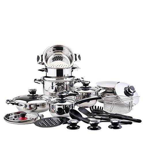 bateria-de-cocina-30-piezas-acero-inoxidable-majestic-acabado-cromado-liquidacion-ultimas-unidades-h