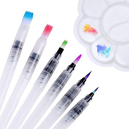 Zoom IMG-1 pennelli ad acqua dighealth acquerello