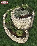 Gabione Bellissa Kräuterspirale mit Drahtgitter klein 60x90x110cm