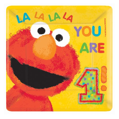 sesame-street-1st-birthday-large-square-paper-plates-18ct-by-amscan
