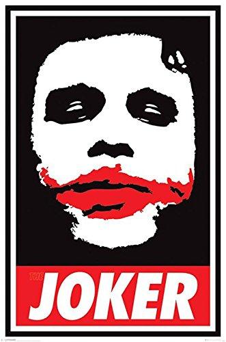 "Poster Batman - The Dark Knight ""Obey The Joker"" (61cm x 91,5cm) + un poster Bora Bora en cadeau!"