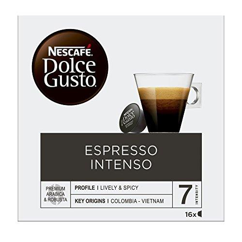 Nescafé Dolce Gusto Café Espresso Intenso - 16 Cápsulas de Café