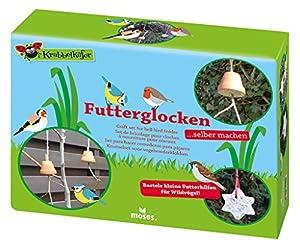 moses. Verlag GmbH 16100Gateo Mariquita Forro Campanas Juego de Manualidades, Forro Ayuda para Invierno Pájaros cartonaje, Multicolor