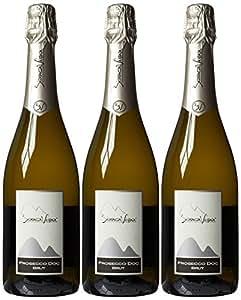 Biancavigna Spumante Brut NV Sparkling Wine 75 cl (Case of 3)