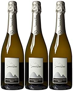 Biancavigna Spumante Brut Non Vintage Sparkling Wine, 75 cl (Case of 3)