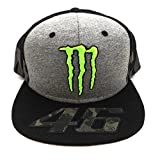 Valentino Rossi VR46 Moto GP Monster Camp Edition Gorra Oficial 2017