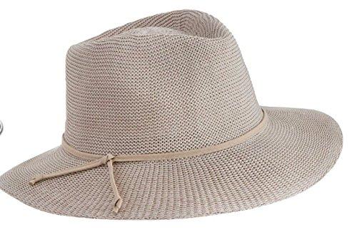 Emthunzini hats - Pamela - para Mujer Beige Piedra 58 cm d435e8e89a8d