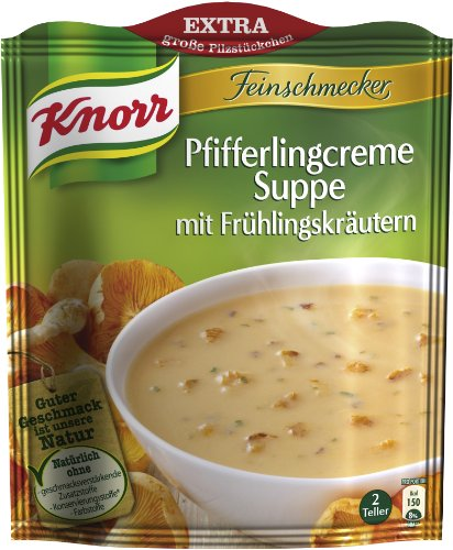 knorr-feinschmecker-pfifferlingcreme-suppe-mit-fruhlingskrautern-8-x-2-teller-8-x-500-ml