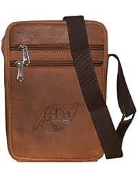 Style98 100% Genuine Real Hunter Leather Unisex Crossbody Sling Bag