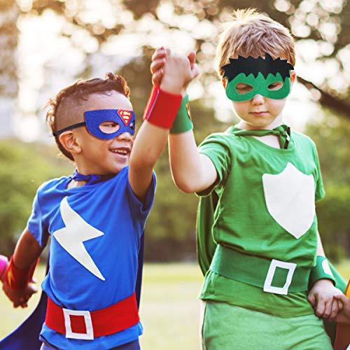 51m0zvb324L - URAQT Mascaras Superheroes, Máscaras para Niños, Máscaras Disfraz Superheroes Niños, Máscaras para Niños, Superheroes Party Máscaras, para Niños Mayores de 3 Años -16 Piezas