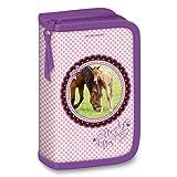 Exclusiv*Pferde Federmappe Federmäppchen gefüllt EDEL