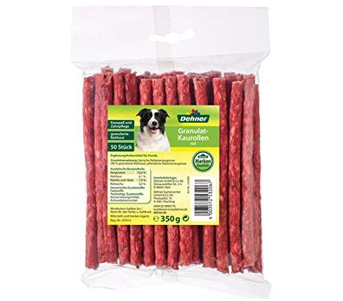 Dehner Hundesnack, Kaurollen rot, 50 Stück -