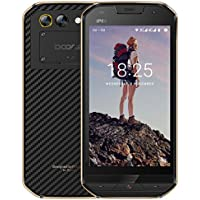 Telephone Portable Debloqué Incassable, DOOGEE S30 Smartphone 4G IP68 Étanche Antichoc, Ecran 5 Pouces - 5580mAh Grand Batterie - 16Go - 2Go de RAM - 5MP + 8MP Caméras - Android 7.0 Double SIM - Or