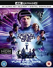 Ready Player One (4K UHD + Blu-ray + Digital Download) (2-Disc Set Including Over 90 Minutes of Special Features) (Slipcase Packaging + Region Free + Fully Packaged Import)