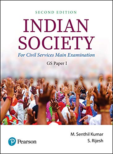 Indian Society | For Civil Services Main Examination | GS Paper 1 | Second Edition | By Pearson