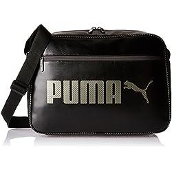 Puma Campus Reporter bolsas de hombro, color Puma Black, tamaño talla única