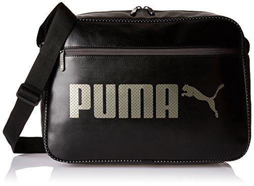 Puma Campus Reporter Umhängetasche, schwarz (puma black), 40 x 29 x 13,5 cm