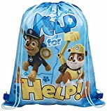 Disney Marvel Illumination Entertainment Nickelodeon Character School Nursery Trainer Shoe Pe Gym Sport Kit Swimming Drawstring Bag (Just Jelp for the Help)