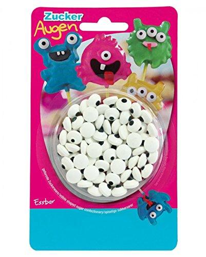 Zuckeraugen als Dekoration für Cake Pops & Muffins (Halloween-party-cake-pops)