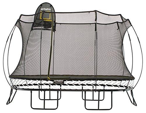 Unbekannt Springfree Trampoline O92, black, 2.4m x 4m