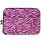 VanGoddy Exotic Pink Zebra Laptop Sleeve for Acer TravelMate / Aspire / Spin / ChromeBook / 15.6in Laptops