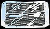 Heizkörper-Abdeckung, Heizungsgitter, 1000 FZ1 und FZ1 Fazer 2006 >2015, Design Eclair + Gitter, Aluminium