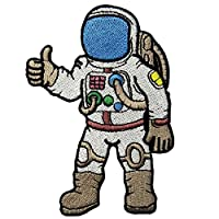 Astronaut A Journey To Space Embroidered Iron On Sew On Patch