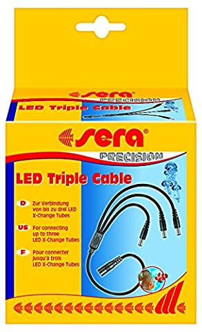 sera 31265 LED Triple Cable - Verteiler für bis zu drei sera LED-Tubes