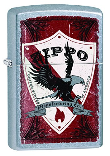 """Zippo Accendino antivento-Street """"Zippo Shield, cromato"""