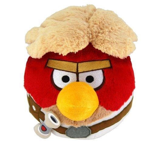 Angry Birds Star Wars Luke Skywalker Plüschfigur 15 cm Plüsch Stofftier Beanie (Wars Angry Plüsch Birds Star)