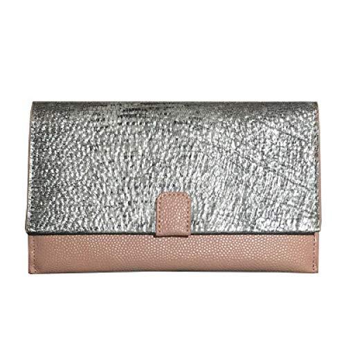 YZJLQML Lady bagsFashion Damentasche Brieftasche weiches Gesicht Casual Clutch Bag Mode Handtasche @pink