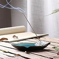 Handgefertigtes Räuchergefäß aus Porzellan in Lotusoptik Räucherstäbchenhalter Ständer Aschebehälter Tablett Teller... preisvergleich bei billige-tabletten.eu
