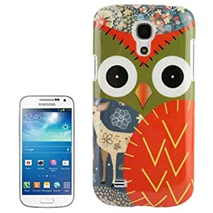 Owl Pattern Plastic Case for Samsung Galaxy S IV mini / i9190