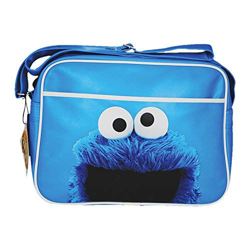 amts-sesame-street-cookie-monster-blau-retro-tasche
