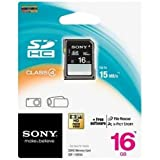#7: Sony 16GB SDHC Card - Class 4 - 15MBps
