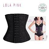 O³ Gaine Amincissante Ventre Plat Lola Pink - Invisible et Confortable- Effet Taille de guêpe