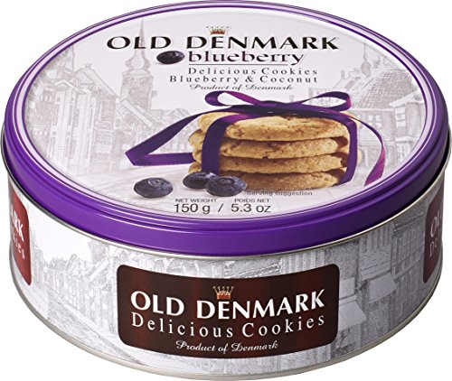 Jacobsens Cookies, Blueberry and Coconut, 150g