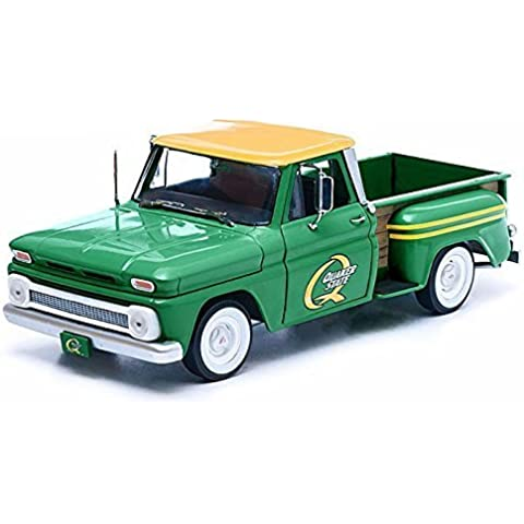 1965 Chevy C-10 Stepside Truck Quaker State 1/18 Green by Chevrolet