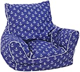 Knorrtoys Knorrtoys.COM 68207Maritim Blue–Saco de Asiento Infantil