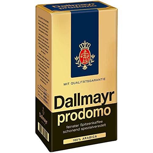 Kaffee prodomo gemahlen, Dallmayr prodomo, Inhalt 500g