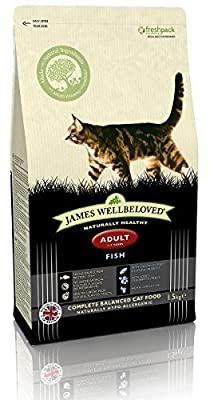 James Wellbeloved Fish and Rice Adult Cat Food