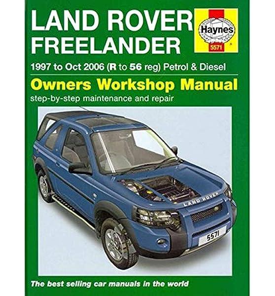 Land Rover freelander 1997-2006 Werkstatthandbuch auf Deutsch Auto ...